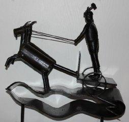 Skulptur af Thor 1963.