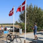 Flagene vajer ved pitstoppen