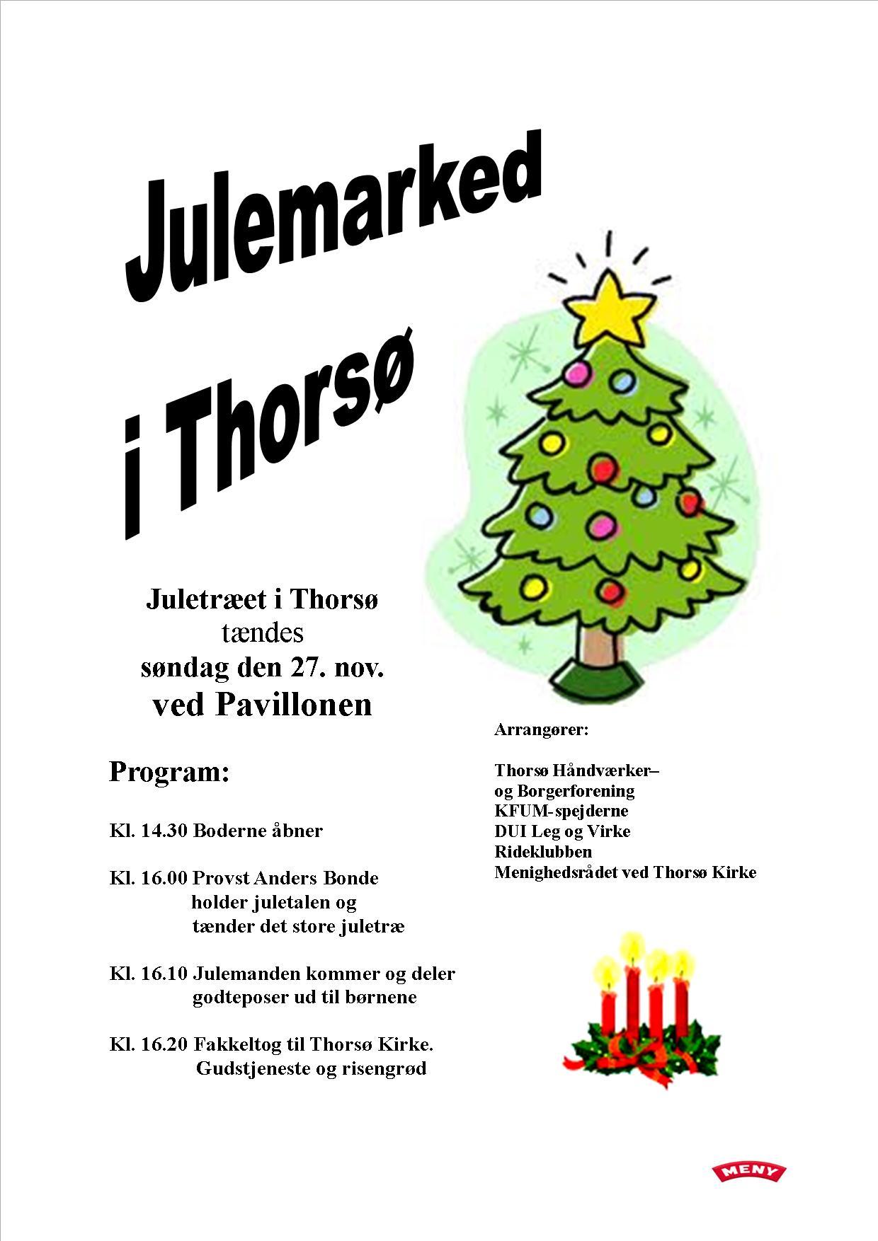 Julemarked 2016. Plakat til tryk