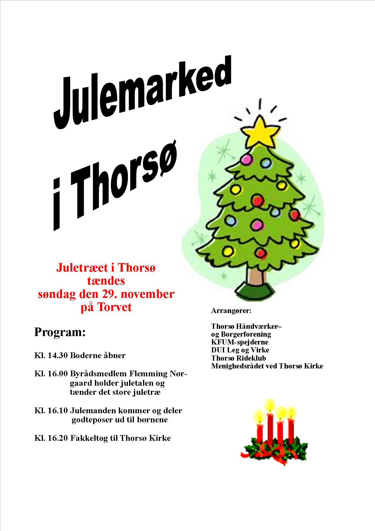 Julemarked 2015. Plakat til tryk