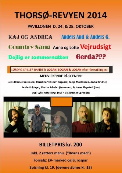 Plakat Revy 2014